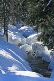 Snow Creek Scene Near Trinity