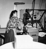 Grandma Dodge ( Lula) Work In Photo Lab. ( 1940's)