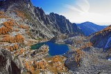 View Of  Spectical Lake  From Trail In Enchantments