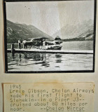 Enie Gibson, Flying Legend Around Lake Chelan