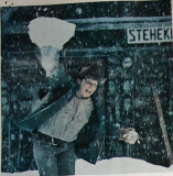 Cliff Courtney Throwing Snow  ( National Geographic Mag) Early 70's
