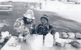 Paul And Soji At Weldon ( Old PCT Route) 1977