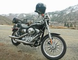 Harley Up Entiat Valley For Early Season Ride