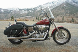 Harley With Windshield Is Nice On Cool March Ride