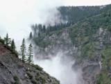 Morning Fog Around Mt. Hood Along PCT
