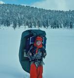 Nancy Garder ( Tank)  Ultralite  Hiking Toward The Sierras