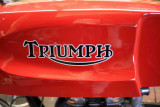 Tank On  Triumph Cafe Racer