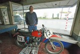 Frank  And His Old Truimph 500cc Dirt Bike