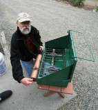Jan ( Collector/Hiker) From Canada With Jules Model 413 Stove