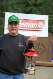 Murff With His Classic Ted Williams Restroed Lantern