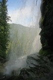 Looking Through The Falls ( Silver Falls)