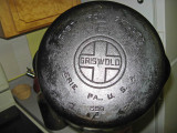 Griswold  # 6 Cast Iron Skillet ( Company Sold Out In 1957)