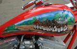 Budwiser Horse Team Tank