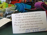 Kat Straps ( Great Homemade Guitar And Camera Straps) Any colors