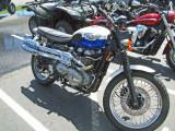 2007 Triumph  Scrambler 865 cc, 57 HP Retro Looking Bike