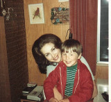 Mom ( Jann ) And My  Little Brother Jason ( age 5)