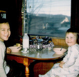 Me And Barbie At Breakfast At Grandparents  (1964)