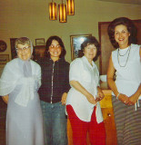 Gramma Dodge, Aunt Pam, Aunt Eilene, And Mom ( Early 70's)