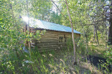 Old Cabin In  Brief 22 miles Up The Entiat River