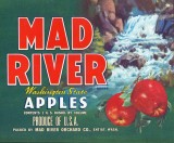Mad River Apples ( Old Apple Box Label)