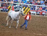 Native  Beauty Shows Her Man's Horse Before Suicide Race.