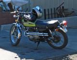 Retro Honda 360cc from mid 70's