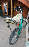 Cool  60's  Stingray In Front Of Gear And Grind In Tahoe City