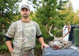Michiel Beard With  3 X 4  Muley Buck Taken With Black Powder Rifle