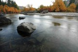 Fall Evening Along Entiat River