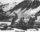 Newspaper Clipping Of Me And Lars Onsrud ( Norway) At Fire Mountain Pass