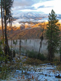 First  Dusting Of Snow Above Entiat Valley