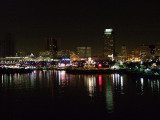 Long Beach, California City Lights
