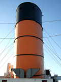 Queen Mary Smoke Stack