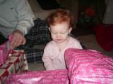 Katie, christmas day 2006
