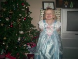 Kirsty xmas day, Cinderella