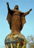 Cristo Rey statue outside Dili