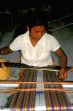 Woman weaving in Dili