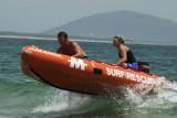 Surf rescue practice, Mooloolaba