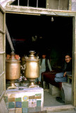 Chaikana or tea shop, Kandahar, Afghanistan