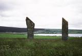 Standing stones, Orkney, Scotland