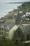 Criccieth, an old-fashioned seaside town on the Llyn Peninsula