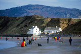 Fishing competition on the beach at Porthdinllaen, Llyn Peninsula