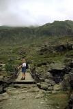 Cwm Idwal walking track, Snowdonia