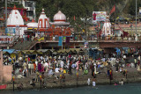 Har Ki Pauri, venue for the nightly Aarti ceremony