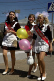 End of school year celebrations in Vladimir