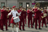 Brass bands march on City Day in Yaroslavl