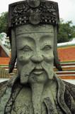Wat Po guardian statue