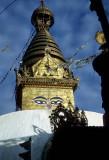 Swayambunath Stupa, Kathmandu