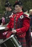 Pipe band, Ayrshire