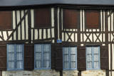 Half-timbered facades, Domfront